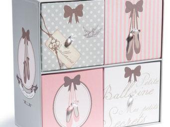 Maisons du monde - boite 4 tiroirs mes secrets - Decorated Box
