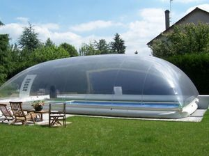 Abri piscine POOLABRI -  - Inflatable Swimming Pool Shelter