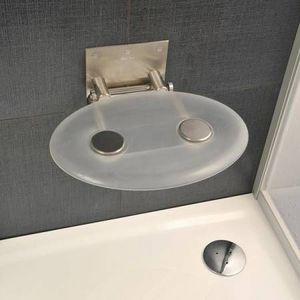 Aryga - PlusDePlace.fr - ovo p clear - Shower Seat