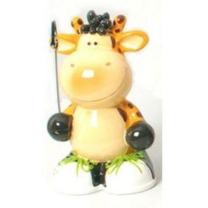FAYE - tirelire et porte photo girafe - Piggybank