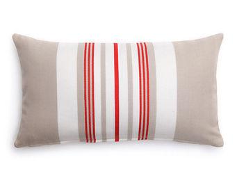 Jean Vier - donibane fraise - Cushion Cover