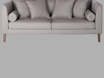 BLANC D'IVOIRE - stockholm - 3 Seater Sofa