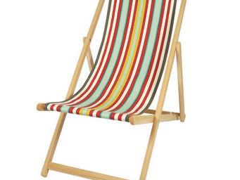 Artiga - chilienne artiga arbonne en hêtre massif et coton  - Deck Chair