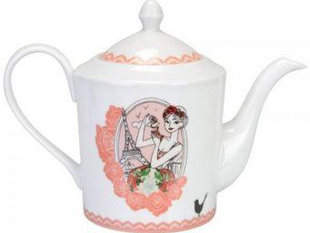 La Chaise Longue - théière porcelaine les parisiennes - Teapot