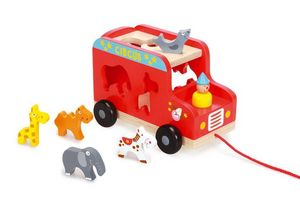 Scratch - circus truck - Drag Toy