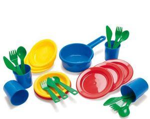 Andreu-Toys - vaisselle  - Doll Toy