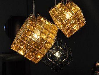 Spiridon - cube - Hanging Lamp