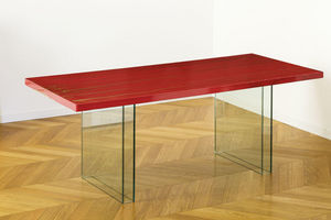 ANTOINE DE MESTIER - feu - Rectangular Dining Table