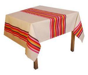 Amarelle - arc en ciel rose  - Rectangular Tablecloth