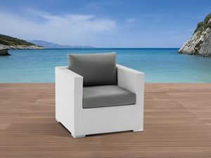 BELIANI - coussin gris xxl - Deck Armchair