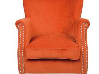 BLANC D'IVOIRE - claude pm orange - Armchair