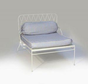 RAJ TENT CLUB -  - Garden Armchair