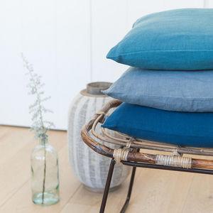 Couleur Chanvre - chanvre pur - Cushion Cover
