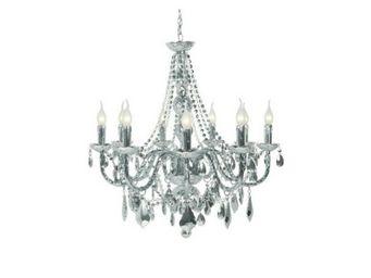 Kare Design - lustre gioiello chrome 9 bras - Chandelier