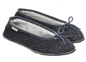 BABBI - maya marble grey - Slippers