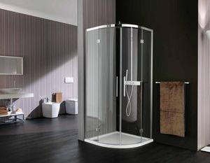 Samo - 1/4 de rond  - Hinged Shower Door