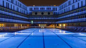 Agence Nuel / Ocre Bleu - -piscine molitor - Architectural Plan