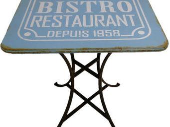 Antic Line Creations - table bistro vintage - Garden Table