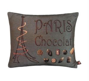 Art De Lys - paris chocolats, - Rectangular Cushion