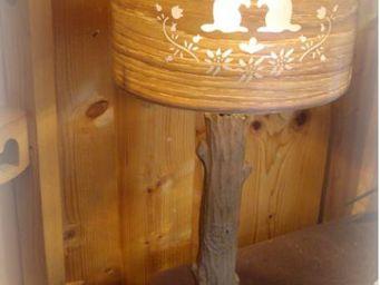 au petit coeur d'amour -  - Table Lamp