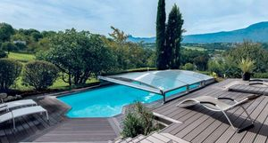 Abrideal - télescopique - High Telescopic Pool Cover