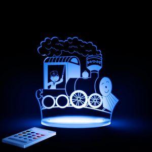ALOKA SLEEPY LIGHTS - train - Children's Nightlight