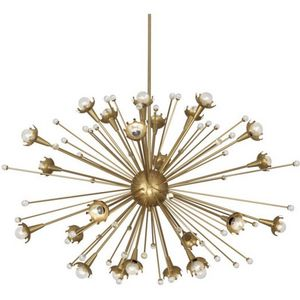 ALAN MIZRAHI LIGHTING - qz6610 sputnik 24 light - Candelabra