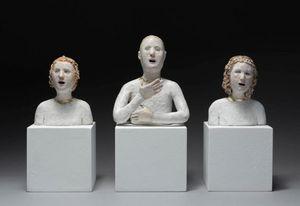 AGNÈS BAILLON -  - Bust Sculpture
