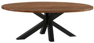 MEUBLE HOUSE -  - Oval Dining Table