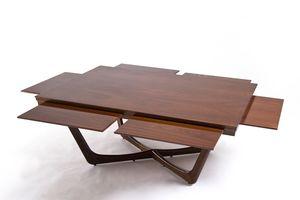 Unopiù - c'est la vie - Coffee Table With Drawers