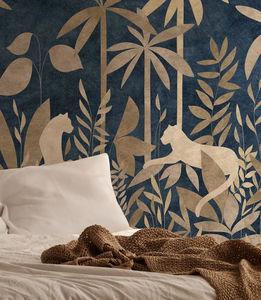 ISIDORE LEROY - paradis des tigres nocturne - Wallpaper