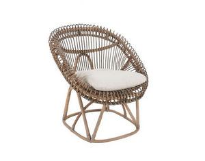 ROTIN ET OSIER - roco - Garden Armchair