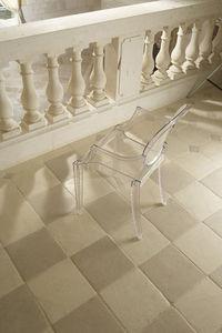 Occitanie Pierres - damier auberoche et borrèze - Floor Tile