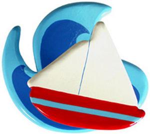 L'AGAPE - voilier - Children's Clothes Hook