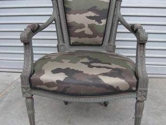 Englers - louis vi camouflage - Armchair