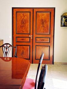 atelier de peinture décorative -  - Faux Wood Finish