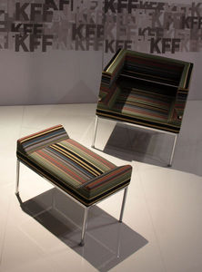 Kff Design - salone del mobile milano 2009 - Armchair And Floor Cushion
