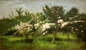 ANDERSON GALLERIES - spring - Oil On Canvas And Oil On Panel