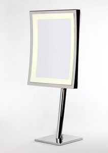 Miroir Brot - square lm-ap - Lighted Tabletop Mirror