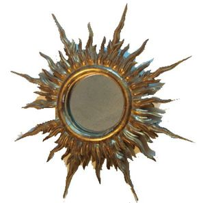 Antiquités SANT VICENS - miroir soleil - Eccentric Mirror