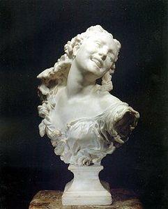 Rosenberg & Stiebel - buste en marbre - Bust Sculpture