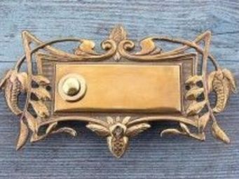 Replicata - klingelplatte floraler jugendstil - Door Bell