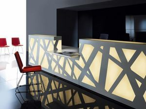 MDD - zig-zag - Reception Desk