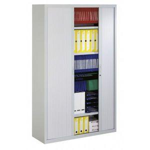 Office-news - grande armoire rideaux standard - Side Tambour Cupboard