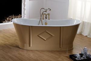 BLEU PROVENCE - chateau - Freestanding Bathtub