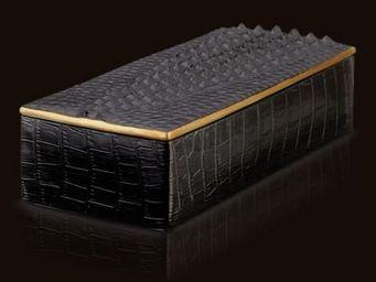 L'OBJET - desk accessories crocodile - Pen Box