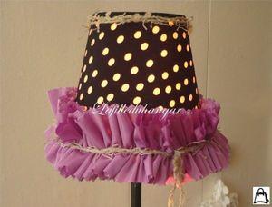 LAFILLEDUHANGAR -  - Custom Made Lampshade
