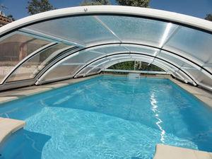 BEL ABRI FRANCE - roma - Sliding/telescopic Pool Enclosure