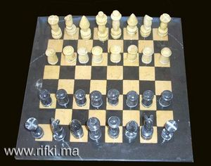 Minéraux et fossiles Rifki -  - Chess Game