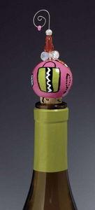 LOLITA DESIGNS - shopaholic too - Decorative Bottle Stopper